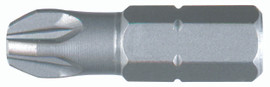 Wiha 72203 - Phillips Insert Bit #3 x 25mm 100 Pc.