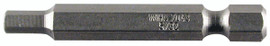 Wiha 74359 - Hex Metric Power Bit 4.0 x 50mm