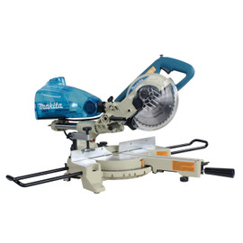 "Makita LS0714B - 7-1/2"" Dual Sliding Compound Mitre Saw and Cyclonic Mitre Saw Dust Box"