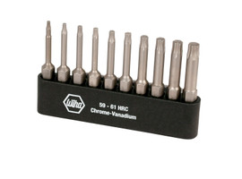 Wiha 74982 - TorxPlus® Power Bit Belt Pack 10 Pcs Set