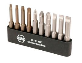 Wiha 74983 - Slot/Ph/Torx® Power Bit Belt Pack 10Pc