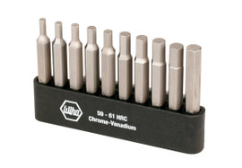 Wiha 74986 - Hex Power Bit Belt Pack 10 Pc Set