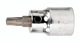 """Wiha 76318 - Torx® Bit Socket 3/8"""" Square Drive T20"""