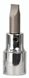 "Wiha 76417 - Slotted Bit Socket 1/2"" Square Drive 8mm"