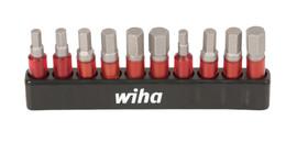 Wiha 76876 - Impact Insert Hex Bit 10 Pc.Set