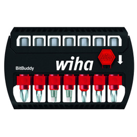 Wiha 76892 - Impact Power Bit Buddy Set PH, Sq, Tx