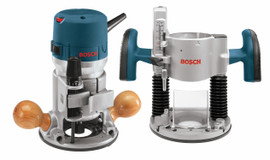 Bosch 1617EVSPK - 2.25 HP Combination Plunge- and Fixed-Base Router