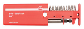 Wiha 79248 - Slotted, Phillips, Square Bit Selector