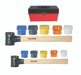 Split Head Mallet 14Pc Set in Tool Box