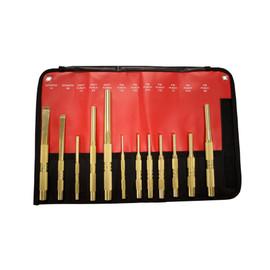 Mayhew 62277 - 4Pc Brass Punch Set SAE