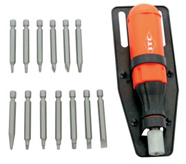 ITC 020921 - (ISDM-15) 15 PC Multibit Screwdriver Set