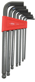 ITC 021513 - (IHKB-7S) 7 PC S.A.E. Ball Nose Hex Key Set