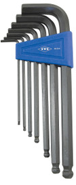 ITC 021514 - (IHKB-7M) 7 PC Metric Ball Nose Hex Key Set