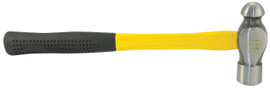 ITC 022622 - (IBP-16F) 16 oz. Ball Pein Hammer - Fibreglass Handle