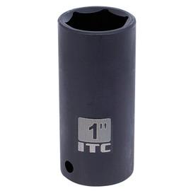 "ITC 026284 - 1/2"" Dr x 1-1/16"" Deep Impact Socket - 6 Point"