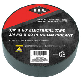 "ITC 026702 - (IET-3460) 3/4"" x 60' Electrical Tape"