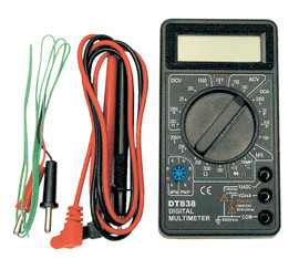ITC 027551 - (IDMM-100) 3-1/2 Digit Digital LCD Multimeter