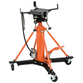 Strongarm 030538 - (816BA) 1 Ton High Lift Air/Hydraulic Professional 2-Stage Transmission Jack