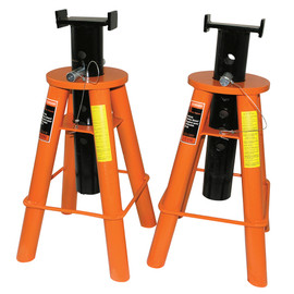 Strongarm 032228 - (873A) 10 Ton Jack Stands Low Profile Set - Heavy Duty