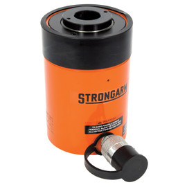 Strongarm 033078 - (SACH302) 30 Metric Ton Hollow Centre Single Acting Cylinder - Super Heavy Duty