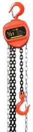 Jet 101002 - (VCH-0510) 1/2 Ton 10' Lift VCH Series Chain Hoist