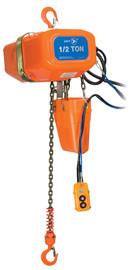 Jet 107202 - (FA1-0.5S) 1/2 Ton 15' Lift 115/230V 1PH Electric Chain Hoist - Heavy Duty