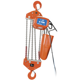 Jet 107206 - (FA-1-5S) 5 Ton 15' Lift 115/230V 1PH Electric Chain Hoist - Heavy Duty