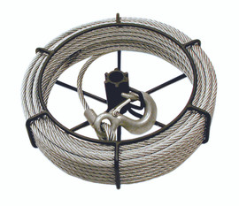 Jet 111152 - (JG-75/SGP-75A) 3/4 Ton 66' Cable Assembly For JET/SUMO® Wire Grip Pullers