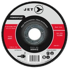 Jet 500412 - 4-1/2 x 3/32 x 7/8 A36T POWERPLUS T27 Cut-Off Wheel