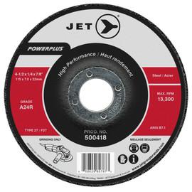 Jet 500418 - 4-1/2 x 1/4 x 7/8 A24R POWERPLUS T27 Grinding Wheel