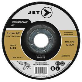 Jet 500568 - 4-1/2 x 1/4 x 7/8 AL24 POWERPLUS NF T27 Grinding Wheel