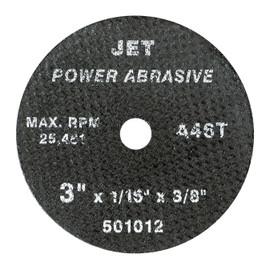 Jet 501017 - 4 x 1/16 x 3/8 A46T POWER ABRASIVE T1 Cut-Off Wheel
