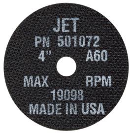 Jet 501072 - 4 x 1/16 x 5/8 A60 POWERPLUS T1 Cut-Off Wheel