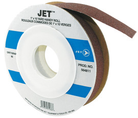 "Jet 564811 - 1"" x 10 Yards A80 Abrasive Cloth Roll"