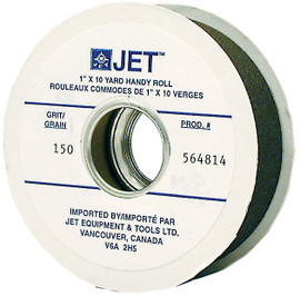 "Jet 564812 - 1"" x 10 Yards A100 Abrasive Cloth Roll"