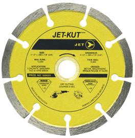 Jet 568609 - (DST–4.5) 4-1/2 x .080 x 7/8 (5/8) JET-KUT Premium Segmented Diamond Blade