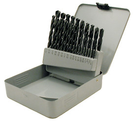 Jet 570108 - (29CD) 29 PC JET-KUT Black Oxide Drill Bit Set - General Purpose (For Steel/Wood)