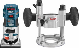 Bosch PR20EVSPK - 1 HP Colt™ Variable Speed Electronic Palm Router Combination Kit