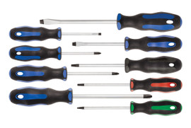 Jet 720523 - (JSTD-9S) 9 PC Ergonomic Screwdriver Set