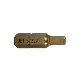 """Jet 729373 - 4mm Hex x 1"""" A2 Insert Bit (2 PC)"""
