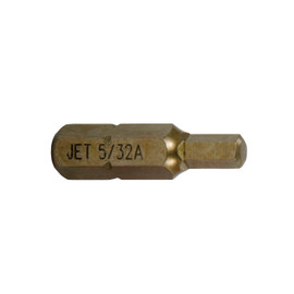 """Jet 729380 - 5mm Hex x 1"""" A2 Insert Bit (2 PC)"""