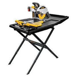 "DeWALT D24000S - 10"" Wet Tile Saw with Stand"