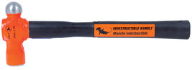 "Jet 740175 - (UBP-3214) 32 oz x 14"" Indestructible Handle Ball Pein Hammer - Super Heavy Duty"