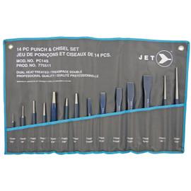 Jet 775511 - (PC-14S) 14 PC Punch & Chisel Set