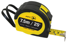Jet 775929 - (JTM-425SM) 25' S.A.E./Metric Tape Measure