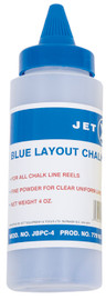 Jet 779162 - (JBPC-4) 4 oz. Blue Chalk