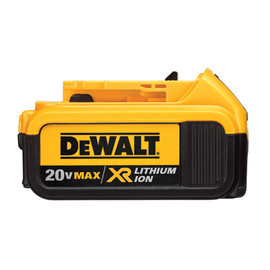 DeWALT DCB204 - 20V MAX Premium XR Lithium Ion Battery Pack (4.0 AH)