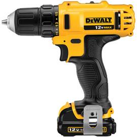 """DeWALT -  12V MAX* 3/8"""" Drill Driver Kit - DCD710S2"""