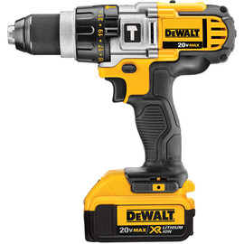 DeWALT -  20V MAX* Lithium Ion Premium 3-Speed Hammerdrill Kit (4.0 Ah) - DCD985M2