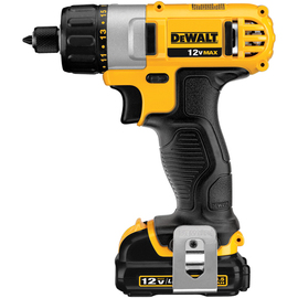 "DeWALT DCF610S2 - 12V MAX* 1/4"" Screwdriver Kit"